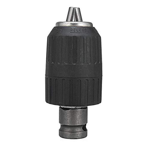 MOZUSA Accesorios perforar, de 13 mm Taladro Adaptador Mandriles 1/2 Pulgadas Llave eléctrica convertidor Accesorios Herramientas