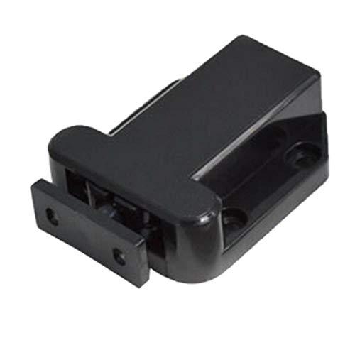 Yener kwaliteitskastvangsten Magnetische deurladekastvangst Druk om kevers te openen Klinkkastdeurdranger 1Pcs, zwart