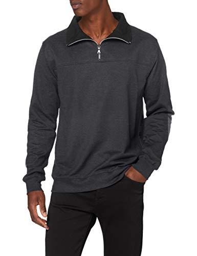 Trigema Herren 674801 Sweatshirt, Blau (Jeans-Melange 643), XXX-Large