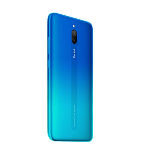 Redmi 8A Dual (Sea Blue, 3GB RAM, 32GB Storage) – Dual Cameras & 5,000 mAH Battery
