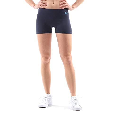 Sportkind Korte sportshorts voor meisjes en dames, balshorts, turnbroek, gymnastiekbroek, ademend