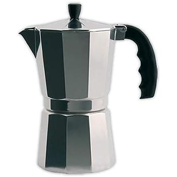 Cafetera italiana ORBEGOZO KF300 | ORBEGOZO 3 tazas Vitro Gas ...