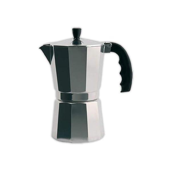 Cafetera italiana ORBEGOZO KF300   ORBEGOZO 3 tazas Vitro Gas Electrico