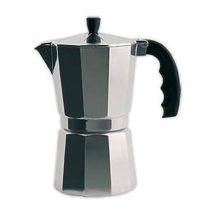 Cafetera italiana ORBEGOZO KF300 | ORBEGOZO 3 tazas Vitro Gas Electrico