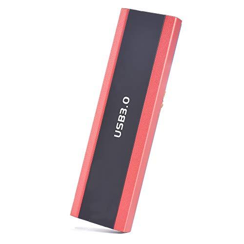 External Hard Drive 1TB 2TB Type C USB 3.1 Portable External Hard Drive External HDD Compatible for Mac Laptop and PC (2TB-C Red)