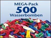 Wasserbomben Mega-Pack (500 Stück)