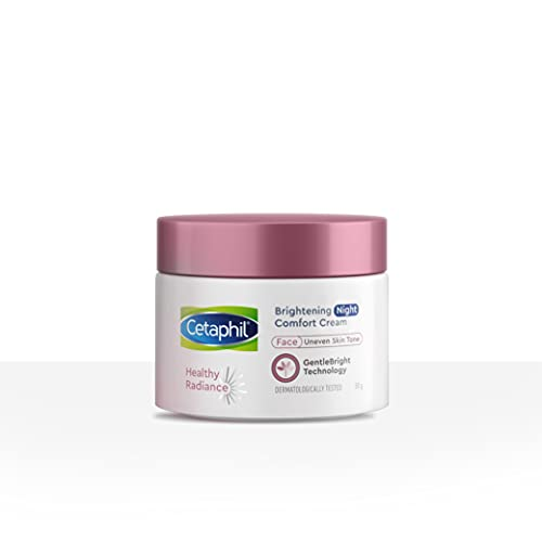 Cetaphil Healthy Radiance Brightening Night Cream with Niacinamide for Sensitive Skin prone to pigmentation 50g