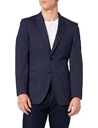 Cortefiel Americana Slim FIT Blazer, Azul Medio, 44 para Hombre