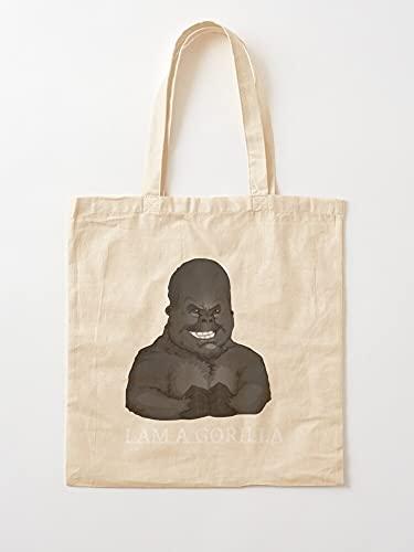 Générique Trends I Animal 2021 Pool Gorilla Am Tim   Einkaufstaschen aus Segeltuch mit Griffen, Einkaufstaschen aus robuster Baumwolle