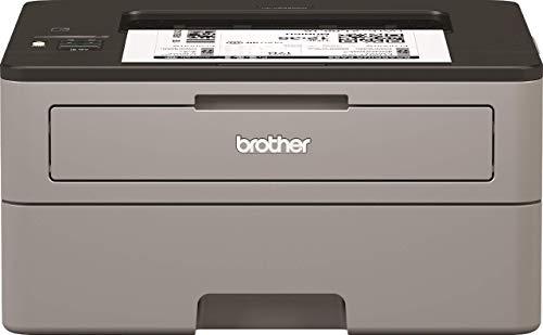 Brother HLL2350DW Stampante Laser Bianco e Nero, Velocità di Stampa 30 ppm, Stampa Fronte Retro Automatica, Wi-Fi (no rete cablata), Display LCD 1 Riga