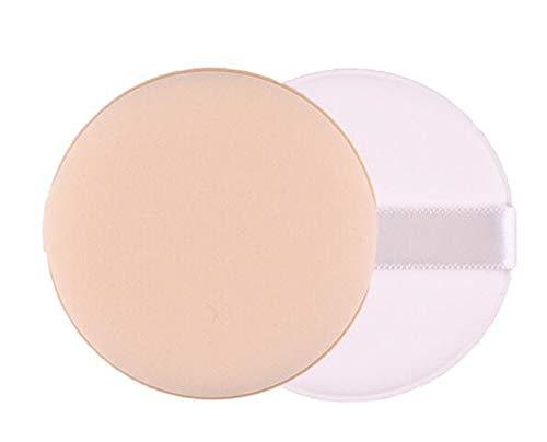Soplo de polvo cosmético Esponja de belleza facial Almohadillas de soplo de polvo Herramienta de maquillaje para base facial para el cuerpo Maquillaje facial Facial 2 PACK