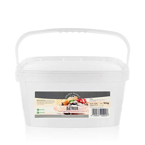 Natron 10kg Premium Qualität 99,3% Reinheit Lebensmittelqualität EU-Ware Natriumhydrogencarbonat Natriumbicarbonat Backsoda