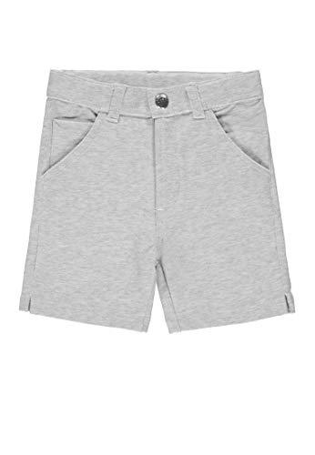 Bellybutton mother nature & me Baby-Jungen Bermudas Shorts, Grau (Micro Chip|Gray 1992), (Herstellergröße: 86)