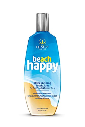 commercial Hemp Beach Happy Dark Tanning Tanning Maximizer hempz tanning lotion