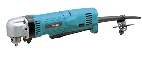 Makita DA3010F DA3010F-Taladro Angular con luz 450W 2400 RPM portabrocas 10 con Llave, 450 W, 240 V, Azul, 10mm