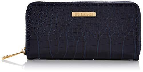 Bulaggi Cynthia Wallet - Portafogli Donna, Blu (Dunkel Blau), 01x10x19 cm (B x H T)