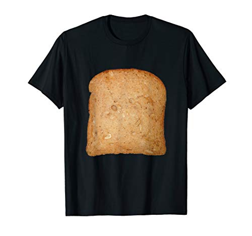 Toastbrot Fasching und Karneval Kostüm Verkleidung T-Shirt