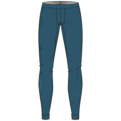 Odlo SUW Bottom Pant Natural 100% Merino Warm Caleçon Homme, Blue Coral, XXL