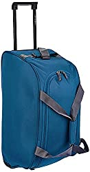 Aristocrat Polyester 53 cms Teal Blue Travel Duffle (Rookie),Vip Industries Ltd,Rookie