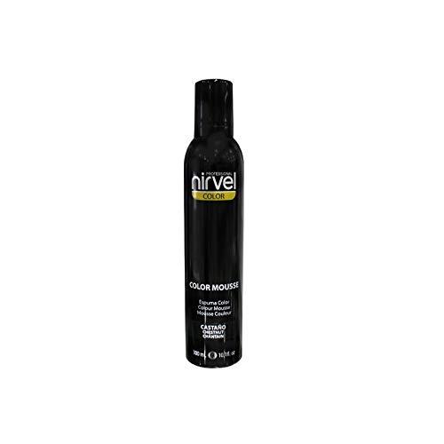 NIRVEL COLOR MOUSSE CASTAÑO 300 ml
