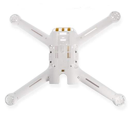 XUSUYUNCHUANG for Xiaomi Mi ronzio RC Quadcopter Ricambio 4K Versione Fino scocca abbassare Shell Set Carrello di atterraggio Accessori Drone (Color : 1pcs Low Body Shell)