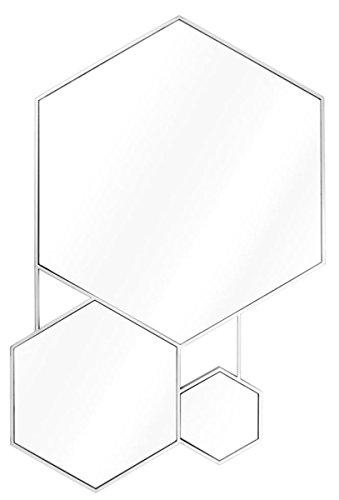 Casa Padrino Spiegel Silber 87 x H. 132 cm - Wohnzimmerspiegel