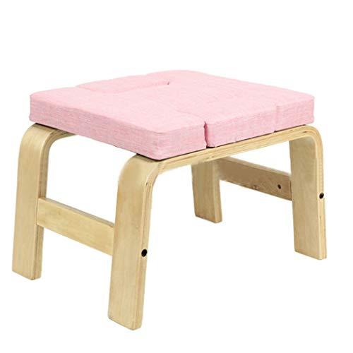 DLT Yoga huvudstativ bänk - Yoga Inversion Stativ stol för hushåll, gym träning fitness -...