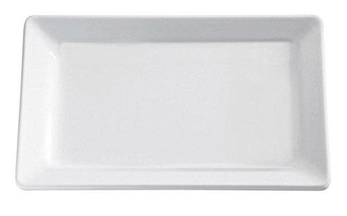 APS Plateau 35,4 x 32,5 cm, H: 3 cm mélamine, Blanc