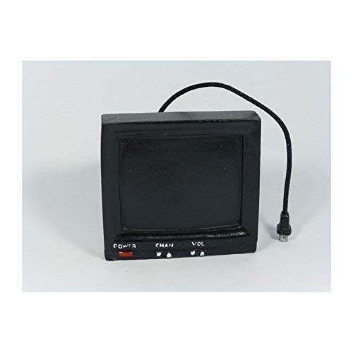 Creal 72672 vieux téléviseur noir 1:12 pour maison de poupée