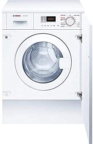 Bosch serie 4 - Lavadora secadora integrable wkd24361ee blanco clase de eficiencia energetica b