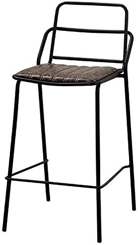 YANYUBINdengzi Taburetes de bar práctico taburete alto sillas alto bar bar bar sillas altas taburete cocina pub café salón silla moderna