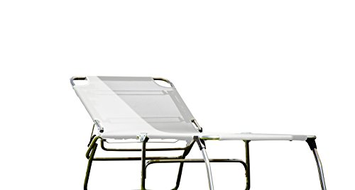 Fiam Amigo Big Chaise longue Standard weiß