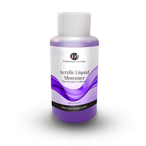 JND Acrylic Liquid Monomer Professional Salon Quality Acrylic Nails Extensions Nail Art (50 ml)
