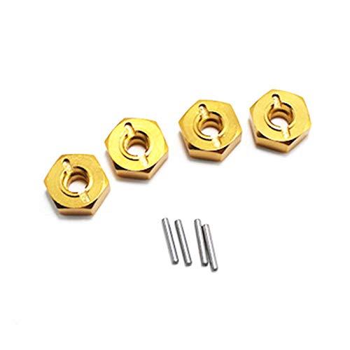 BOINN para 144001 1/14 RC Coche Repuestos Combinador de Metal, Amarillo