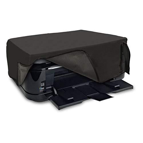 kwmobile Hülle kompatibel mit Canon Pixma TS6250 / 6150/8150 / 9150 - Drucker Staubschutzhülle Schutzhaube Schutzhülle - Dunkelgrau