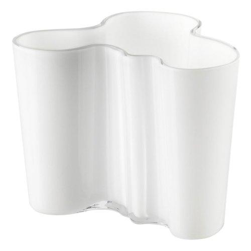 【正規輸入品】 iittala(イッタラ) Alvar Aalto Collection フラワーベース ホワイト 120mm