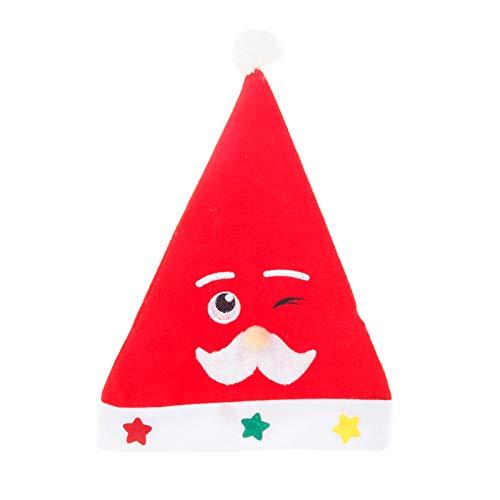 DerDer Christmas hat Santa hat Winking Christmas hat
