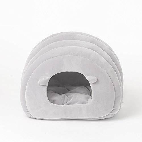 Sofá Antideslizante para Nidos De Mascotas Y Gatos Y Perros, Cama Plegable Portátil, Suave Y Cómodo, Saco De Dormir De Invierno