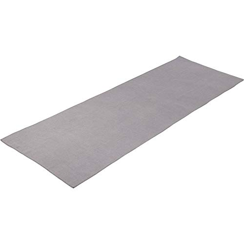 ENERGETICS Erwachsene Yoga Handtuch, Grey, One Size