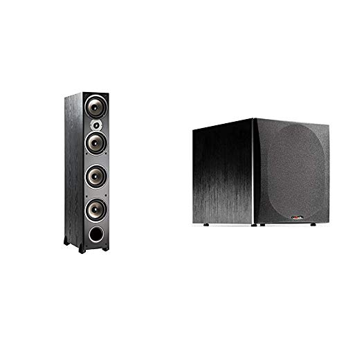 Fantastic Prices! Polk Audio Monitor 70 Series II Tower Speaker for Multichannel 1 Tweeter, (4) 6.5...