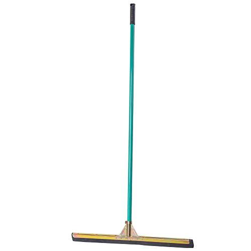 KADAX Bodenabzieher, Wasserabzieher mit langem Stiel aus robustem Metall, Abzieher mit Kopf aus Schaum und metallenen Teilen, Wasserschieber für Garage, Waschraum, Terrasse (Breite: 75 cm)