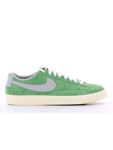 Nike Blazer Low Premium Vintage Canvas 538402302, Scarpe sportive da uomo, Verde (Vert et Gris), 43 EU