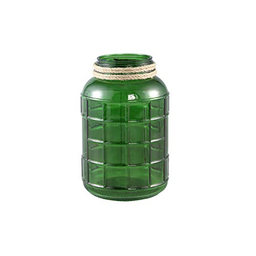 PTMD George Glass Green Vase S