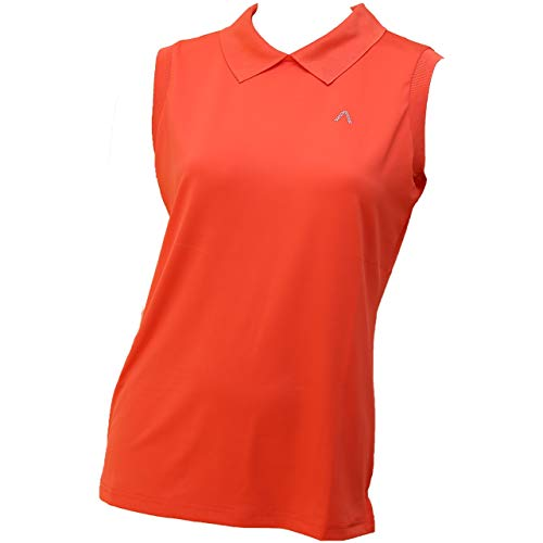 ALBERTO LINA Dry Comfort Polo Damen orange XS