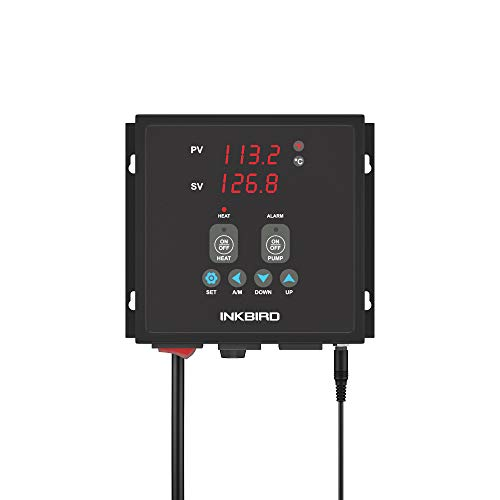 Inkbird Heating or Cooling PID Temperature Controller IPB-16S Pre-Wired Digital Home Brewing Controller Independent Control Pump Thermostat