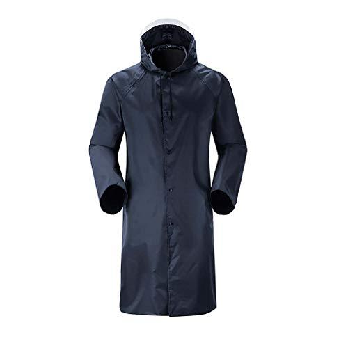 Zarupeng regenjas heren regenponcho van Eva waterdicht camping trekking fiets regen cape cape lange mouwen regenjas