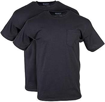 2-Pack Gildan Men's DryBlend Workwear T-Shirts with Pocket