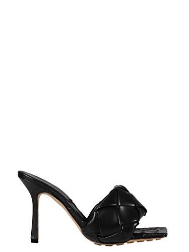 Bottega Veneta Luxury Fashion Donna 608854VBSS01000 Nero Pelle Sandali | Primavera-Estate 20