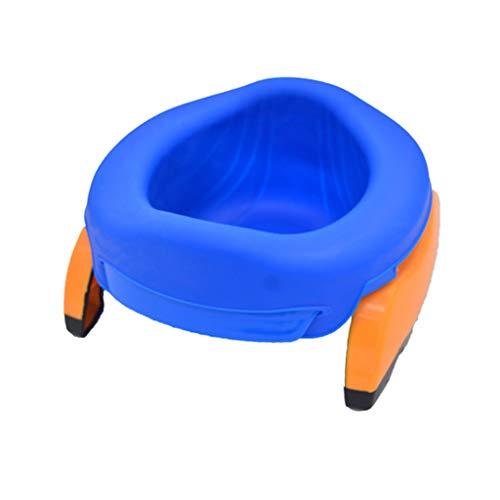 Shefii Klappbarer Toilettenstuhl für Kinder, tragbar, für Töpfchentraining, aus Kunststoff