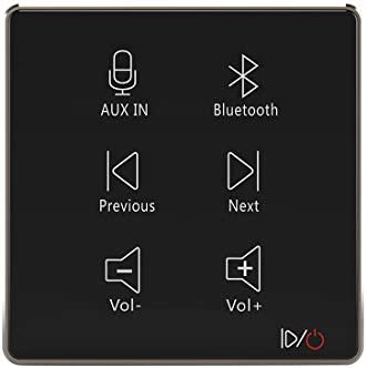 HELMER in Wall Audio Amplifier Wall Mount Bluetooth Receiver in Wall Stereo Audio Volume Controller product image